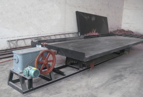 水式铜米机摇床